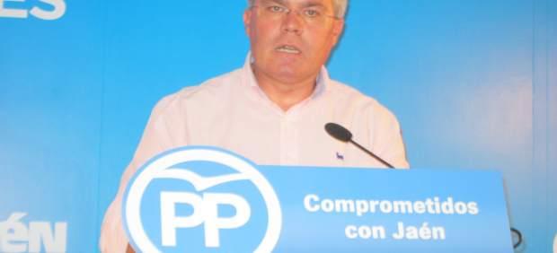 José Enrique Fernández de Moya durante la rueda de prensa