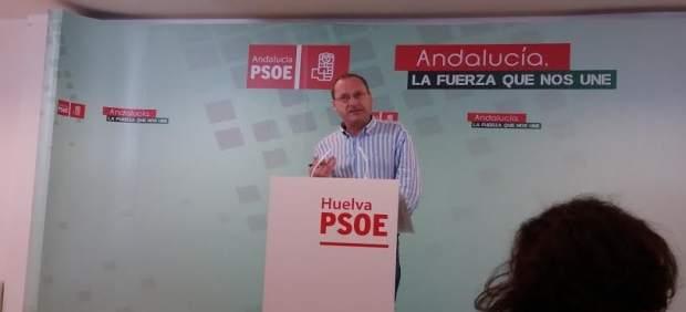 El responsable de Hacienda en la Diputación de Huelva, Francisco Alyllón.
