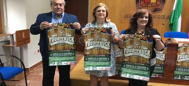 Presentación de la segunda edición del Jaén Food Truck Festival.