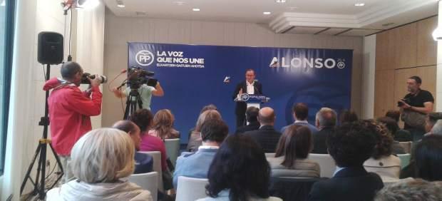 El candidato a lehendakari del PP, Alfonso Alonso