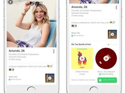 Spotify en Tinder