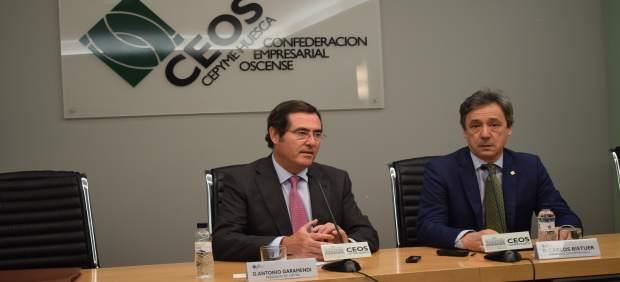 AUDIO Y FOTOS RUEDA DE PRENSA DE PRESIDENTE DE CEPYME ANTONIO GARAMENDI EN LA SE