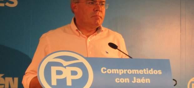 José Enrique Fernández de Moya en la rueda de prensa