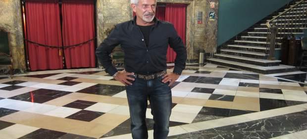 El bailarín y coreógrafo Víctor Ullate, en el Teatro Principal de Zaragoza