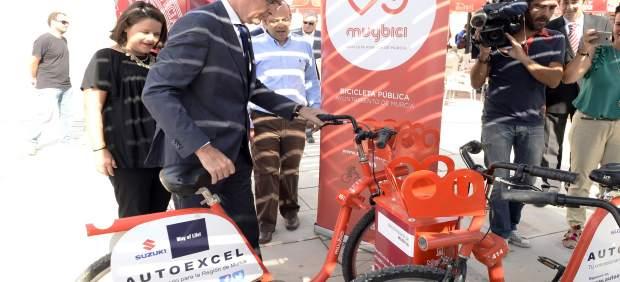 Ballesta con el sistema de bicicletas públicas
