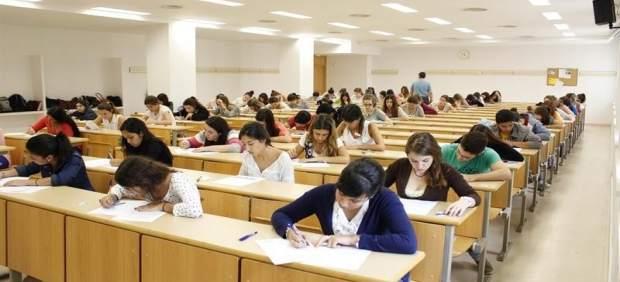 Estudiantes en clase