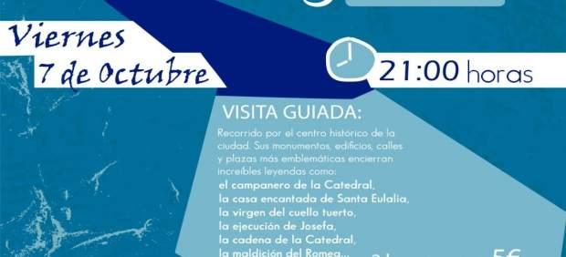 Cartel de la Ruta de los misterios y leyendas de Murcia