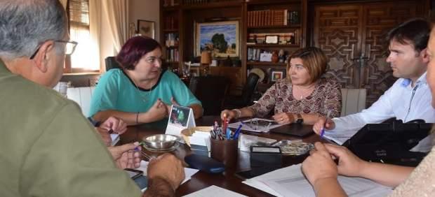 Reunión entre Begoña Bernal y Rosario Cordero