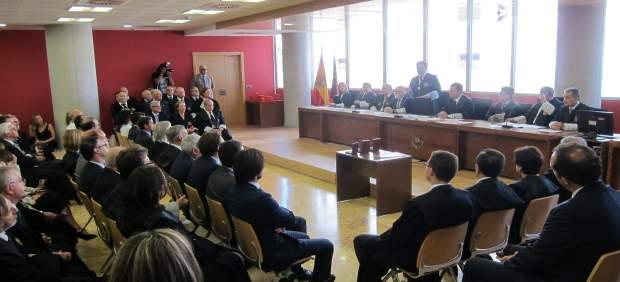 Imagen del acto de apertura del curso judicial