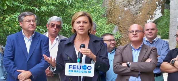 De Cospedal en la provincia de Ourense.