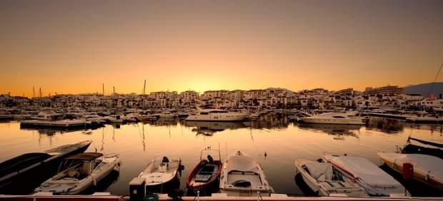 Turismo, barcos, puerto, Costa del Sol,