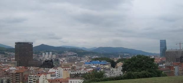 Nubes sobre Bilbao