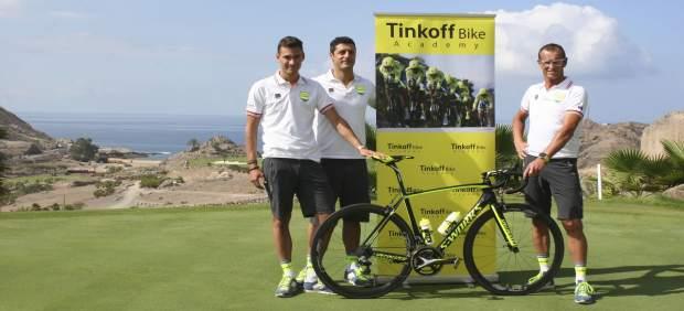 La academia  de ciclismo Tinkoff está instalada al sur de Gran Canaria