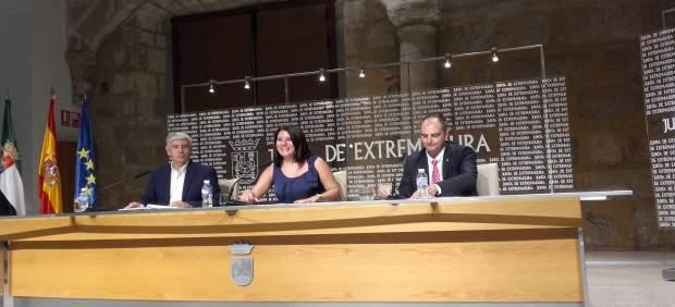 Presentación Congreso entre Extremadura y Costa Rica
