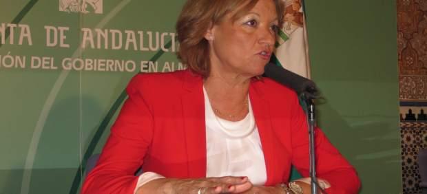 La consejera de Agricultura, Carmen Ortiz, en Almería.