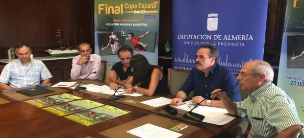 El Frontón del Andarax albergará la Copa de España de Frontón Sub-22.