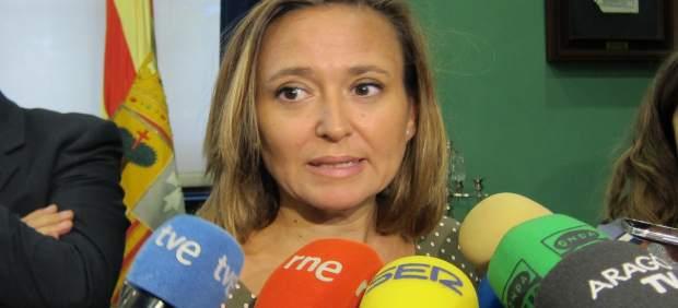 La consejera de Cultura de Aragón, Mayte Pérez