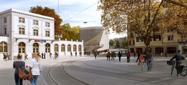 Calatrava proyecta en z rich un edificio de oficinas con for Oficina zurich valencia