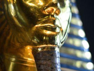 La máscara de Tutankamón