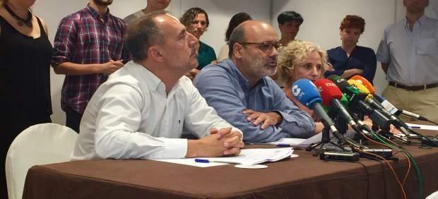 Rueda de prensa de Juan Manuel Brito tras conocer el auto de archivo