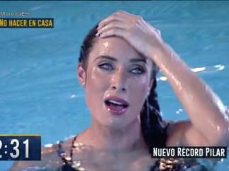 Pilar Rubio rompe su récord
