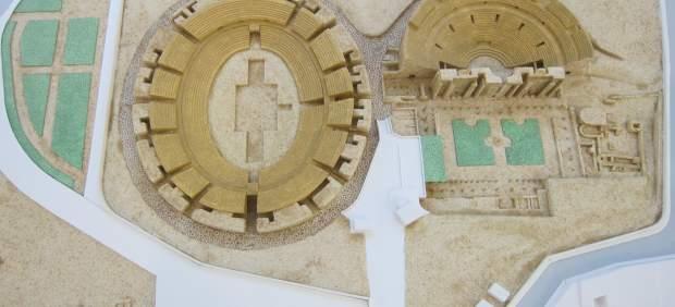 Maqueta del Teatro y Anfiteatro Romano para Invidentes