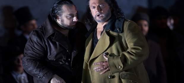 Estreno de Otello en el Teatro Real