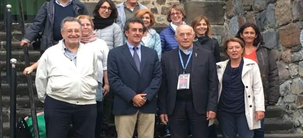 Encuentro de Martín con responsables de ORP del Vaticano