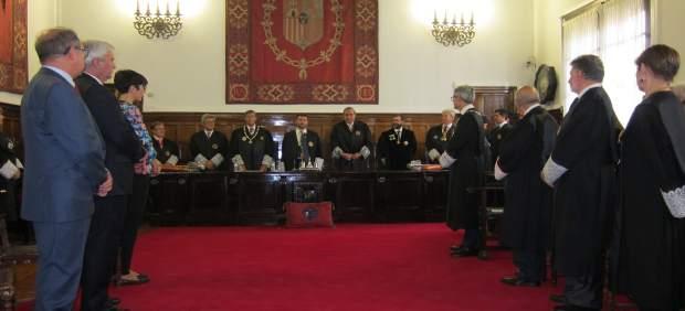 El TSJA ha acogido este viernes el acto de Apertura del Año Judicial en Aragón