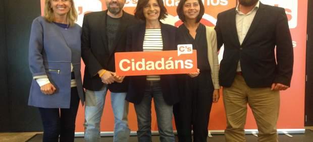 Girauta acompaña a la candidata de Ciudadanos para el 25S