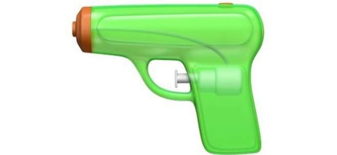 Emoji de la pistola de agua