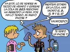 A la compra del iPhone 7