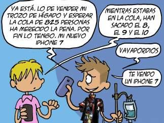 La viñeta de Nepomuk. iPhone