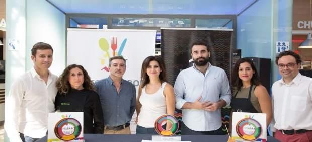 Torralbo, Mayoral y Rojas durante la entrega del premio