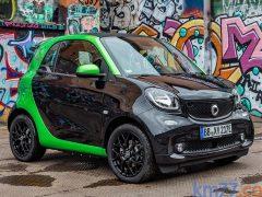Smart fortwo electric drive, con una autonomía de 160 km