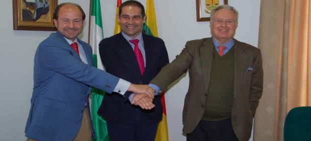 Guillermo García Palacios, José Luis Ramos y Tomás Osborne.