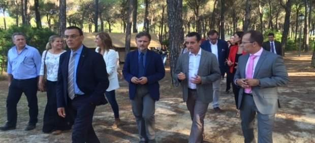José Fiscal en las instalaciones del Camping Doñarrayán