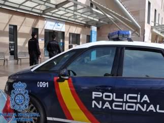 Coche de la Policía Nacional de Cartagena