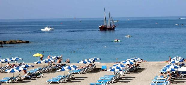 Playa de Las Vistas (Arona, Tenerife)