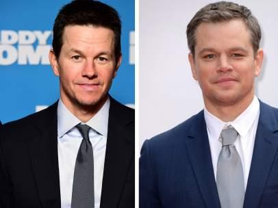 Mark Wahlberg y Matt Damon