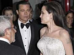 Angelina no quiere a Brad Pitt ni trabajando