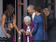 Obama inaugura el Museo Afroamericano de EE UU