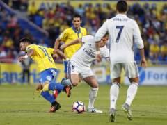 Las Palmas empata (2-2) al Real Madrid en el 85