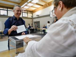 Urkullu vota en Durango