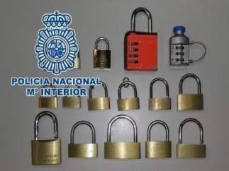 Candados Policía Nacional