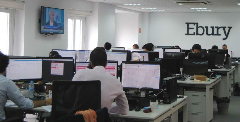 La empresa malague a ebury entre las 100 empresas de for Oficinas de endesa en malaga