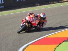 Marc Márquez gana en Aragón y acaricia su tercer Mundial