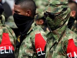 Colombia: miembros de la guerrilla del ELN