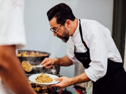 Quique Dacosta, uno de los participantes en Culinary Action