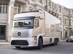 Mercedes Urban eTruck, 100% eléctrico